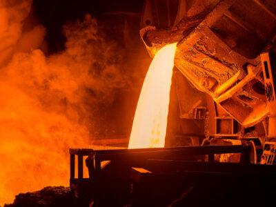 Desgasificación de acero al vacío
